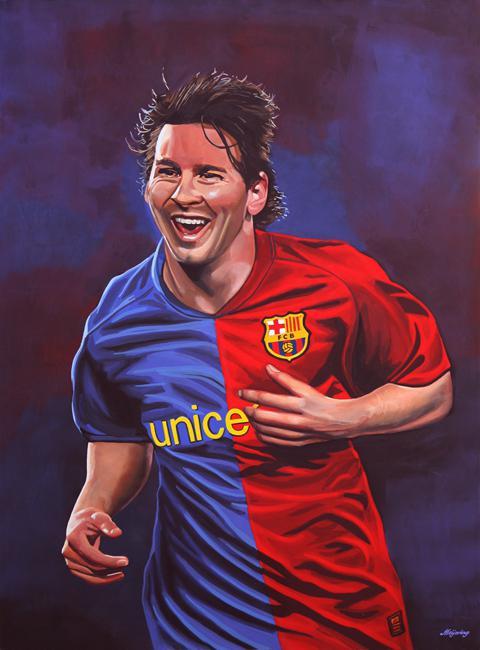 Lionel Messi par PaulMeijering